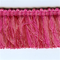 Design 2020 Pink Brush Fringe