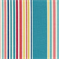 ODL Deck Chair Caribbean Blue Stripe Indoor/Outdoor Fabric by P Kaufmann