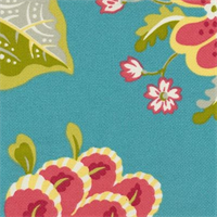 ODL St. Thomas Caribbean Blue Indoor/Outdoor Fabric by P Kaufmann