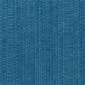Zora 35 Solid Teal Cotton Linen Look Slipcover Fabric
