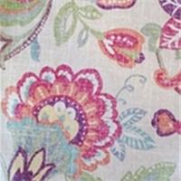 Castilo Julep Floral Drapery Fabric by Richloom Platinum Fabrics