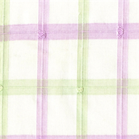 Spring Plaid Lilac Cotton Plaid Drapery Fabric