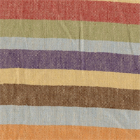 Bailey Stripe Multi Cotton Drapery Fabric