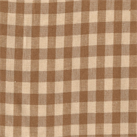 Campbell Ash Woven Check Drapery Fabric