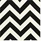 Zig Zag Ebony Indoor/Outdoor Fabric by Premier Prints