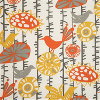 Menagerie Citrus Indoor/Outdoor Fabric by Premier Prints