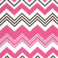Zazzle Preppy Pink Indoor/Outdoor Fabric by Premier Prints