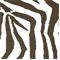 Zebra *10 YD PC--Brown Indoor/Outdoor Print by Premier Prints