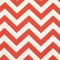 Zig Zag Salmon Indoor/Outdoor Fabric by Premier Prints