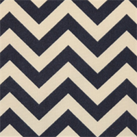 Zig Zag Deep Blue Indoor/Outdoor Fabric by Premier Prints