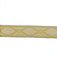 BRV3004 Color 101 Gold Tape Trim