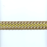 CA200 Color 384 Citrus Braided Ribbon Tape Trim