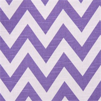Zig Zag Thistle Slub Cotton Drapery Fabric by Premier Prints