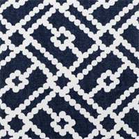 Pippa 21050-5 Blue Lattice Trellis Drapery Fabric by Duralee