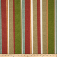Mila Stripe Sesame Indoor/Outdoor Fabric