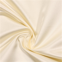 Revere Charmeuse Cream Satin Drapery Fabric by Swavelle Mill Creek