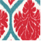 Ambry 72078-203 Poppy Red FLoral Drapery Fabric by Duralee