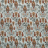 Neda Brick Birch Cotton Drapery Fabric by Premier Prints