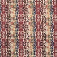 Mali Poppy Birch Cotton Drapery Fabric by Premier Prints