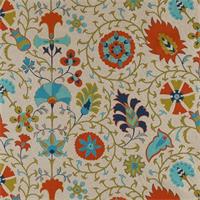 Calypso Tango Danish Linen Drapery Fabric
