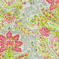 Crystal Vision Petal Floral Ikat Fabric by Dena Designs