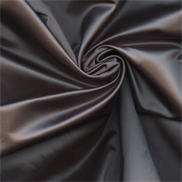 Revere Charmeuse Steel Satin  Drapery Fabric by Swavelle Mill Creek
