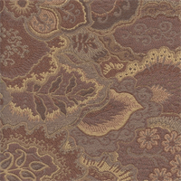 M9134 Fawn Floral Woven Drapery Fabric by Barrow Merrimac