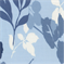 Sun-N-Shade Navy Floral Indoor/Outdoor Fabric by Waverly