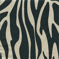 Kato Steel Animal Print Linen by Premier Prints - Drapery Fabric
