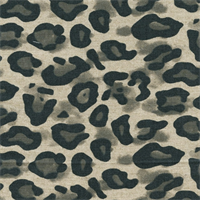 Dayo Steel Animal Print Linen by Premier Prints - Drapery Fabric