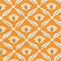 Clover Cinnamon Macon Cotton Drapery Fabric by Premier Prints