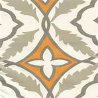Eden Cinnamon Macon Cotton Drapery Fabric by Premier Prints