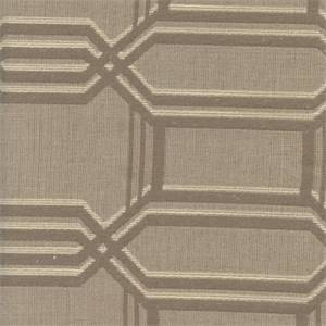 M9379 Flax Woven Geo Design Upholstery Fabric by Barrow Merrimac