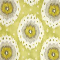 Alhambra Citrus Ikat Print Drapery Fabric by Richloom