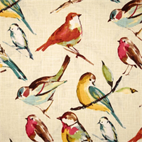 Birdwatcher Meadow Drapery Fabric by Richloom
