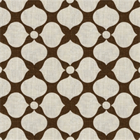 Floral Brown Contemporary Drapery Fabric by Famous Maker