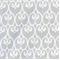 Scroll Grey Cotton Drapery Fabric