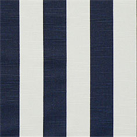 Stripe Navy SLub Cotton Drapery Fabric By Premier Prints