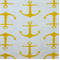 Anchors Corn Yellow/Slub Cotton Drapery Fabric By Premier Prints