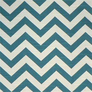Zig Zag Aquarius/Slub Stripe Premier Print Drapery Fabric