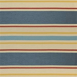 Cayman 397 Primary Stripe Upholstery Fabric