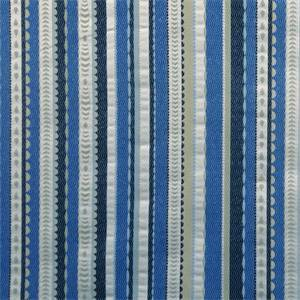 Divine Stripe Indigo Upholstery Fabric
