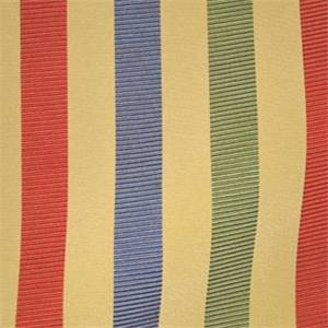Plaza Claret Stripe Drapery Fabric