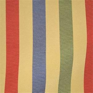 Plaza Claret Stripe Drapery Fabric