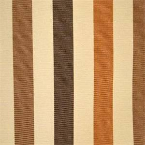 Plaza Chocolate Striped Fabric