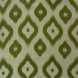 BLV 058 Lg Diamond Dot Ikat Design Sage Green Natural