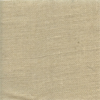 Bur-17 Solid Natural Metallic Burlap Drapery Fabric
