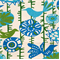 *5 YD PC--Menagerie Grasshopper/Natural by Premier Prints - Drapery Fabric