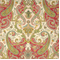 Lyrical Legend Radish Cotton Drapery Fabric by Waverly