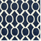 Sydney Navy/Slub Drapery Fabric by Premier Prints